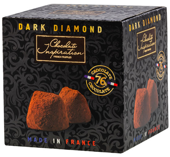 Supreme French truffles 76% cocoa