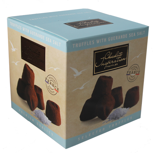 Sea salt of Guerande French truffles