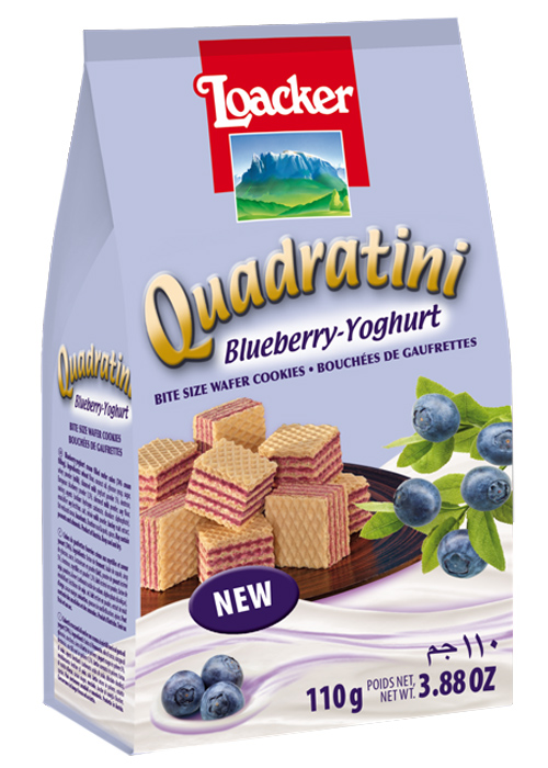 Quadratini Blueberry