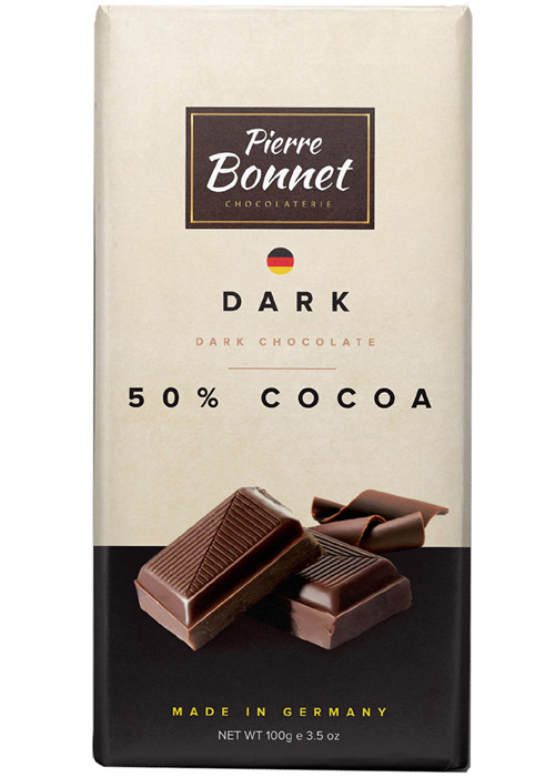 Dark chocolate 50% cocoa