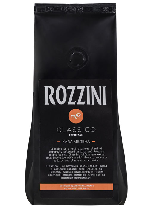 Rozzini ground coffee