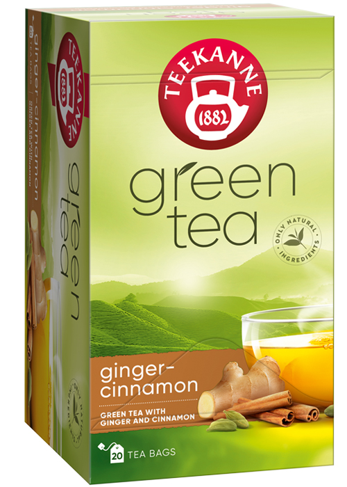 Green Tea Ginger  Cinnamon