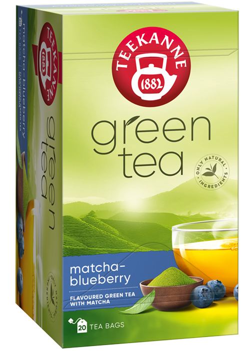 Green tea Matcha Blueberry