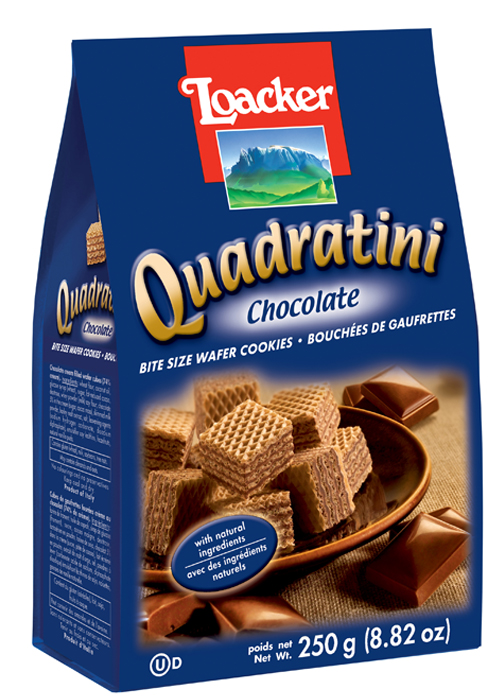 Quadratini Chocolate